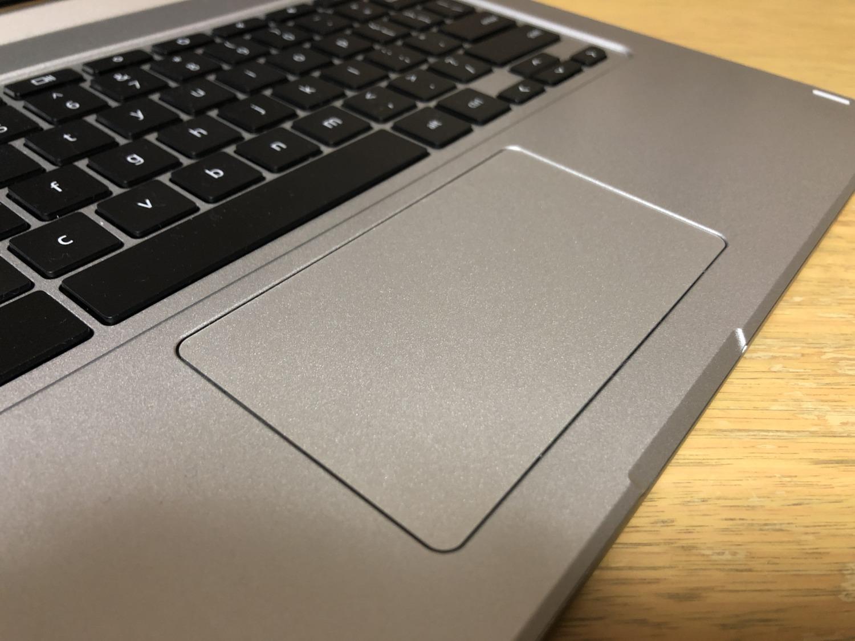 ChromebookR13のタッチパッド